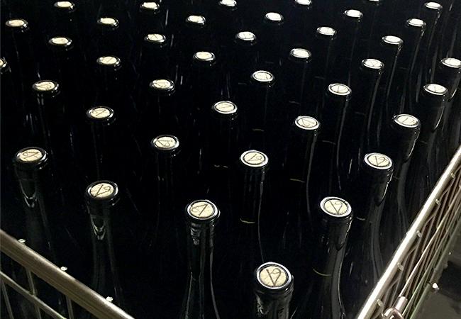 La mise en bouteille à la Vivarelle